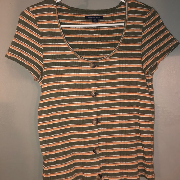 American Eagle Outfitters Tops - Striped shirt